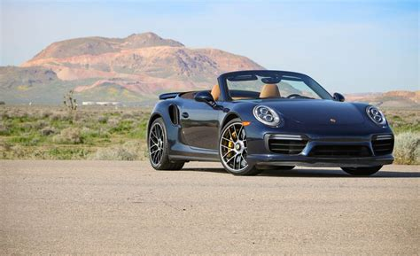 Porsche 911 Turbo S Cabriolet by 2017 Porsche 911 Turbo S Cabriolet Test Review Car And