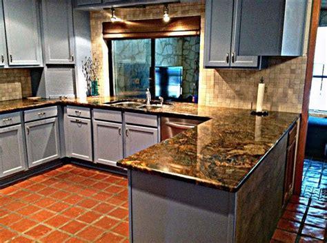 Granite Countertop cappuccino gold   Kitchen   Pinterest