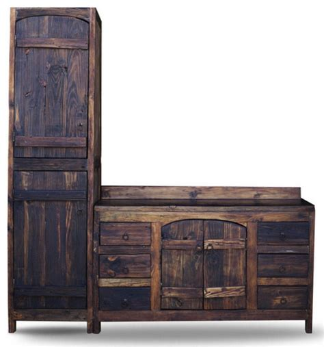 barnwood cabinets houzz old world reclaimed barnwood vanity view in your room