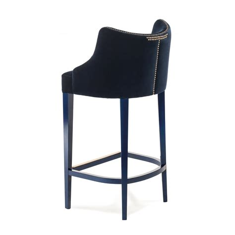 designer bar stool designer bar stool velvet becomes me swanky interiors