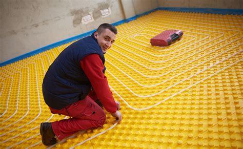 riscaldamento pavimento a secco pavimento a secco e pannelli radianti tirichiamo it