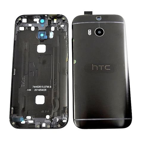 Htc One M8 htc one m8 battery cover black