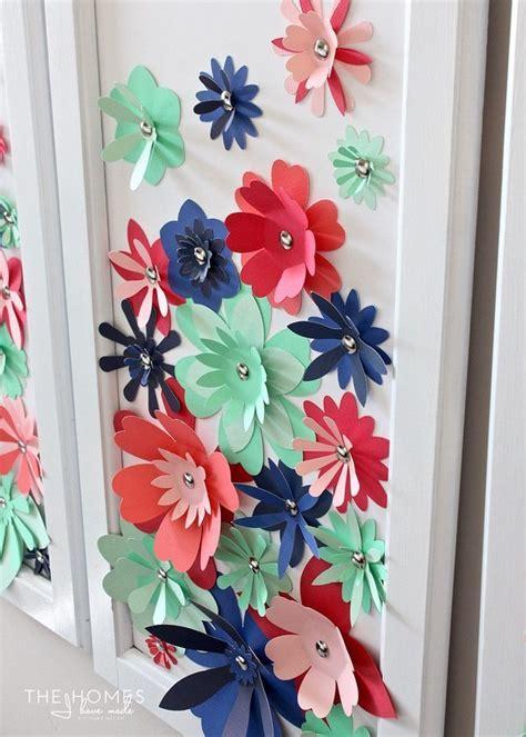Paper Flower At Home - diy paper flower artwork thirty handmade days