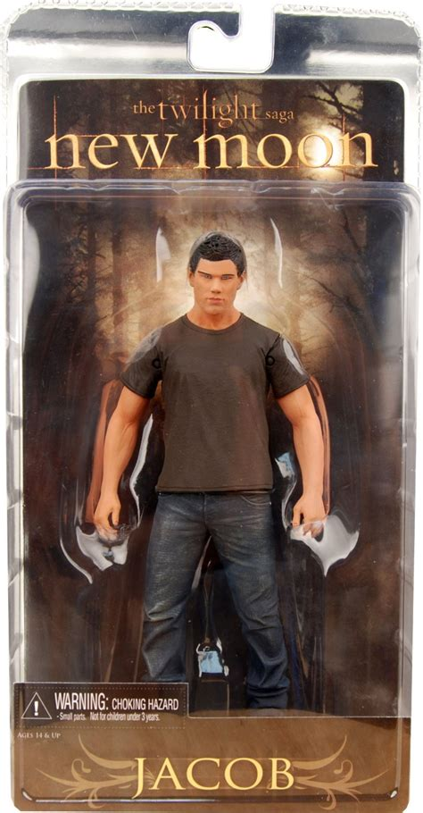 Neca Jacob New Moon Twilight Saga Pvc Statue Model Figures Coll figurine twilight jacob