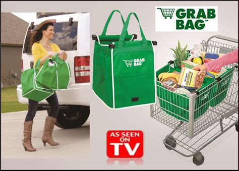 grab bag reusable clip to cart sho end 5 29 2018 6 10 pm