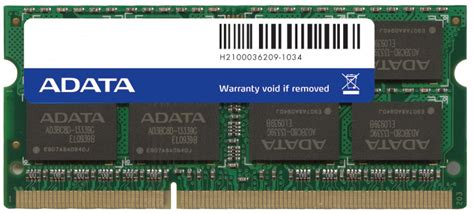 Ram Adata Ddr3 4gb memoria laptop adata 4gb ddr3 1333 mhz ad3s1333w4g9 s 642 00 en mercado libre
