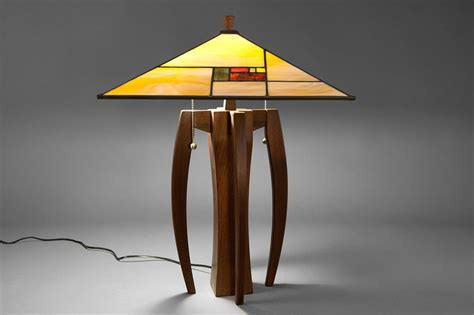 Prairie Home Designs The Flw Lamp Shade With Walkabout Base Terra Firma Design