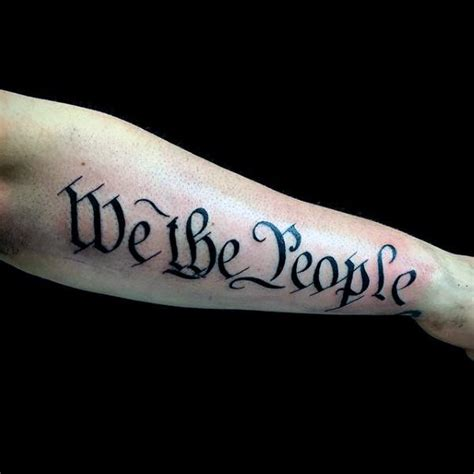 we the people tattoo we the patriotic tattoos pictures to pin on