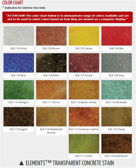 water based stain colors 25 best ideas about water based concrete stain on