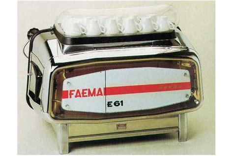 Mesin Kopi Faema asal muasal mesin espresso kopi keliling