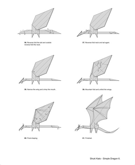 Complex Origami - free coloring pages complex origami diagrams 101
