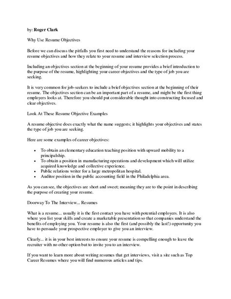 inexperienced resume template m 225 s de 25 ideas incre 237 bles sobre ejemplos de objetivos de