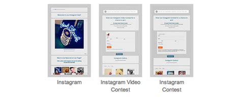How To Display Instagram On A Facebook Page With Shortstack Video Giveaway Instagram Template