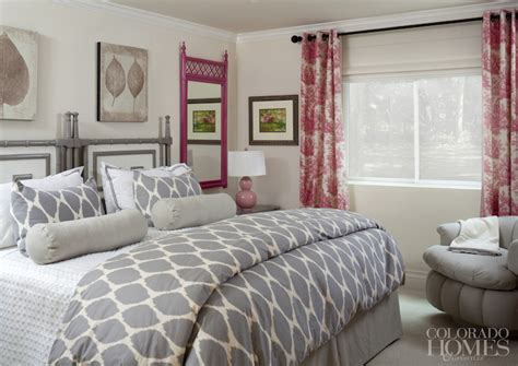 gray and pink bedroom pink and gray bedrooms contemporary bedroom colorado