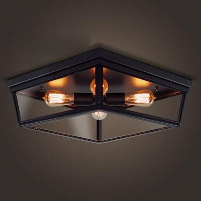 glass flush mount ceiling light four light black led flush mount ceiling light with glass