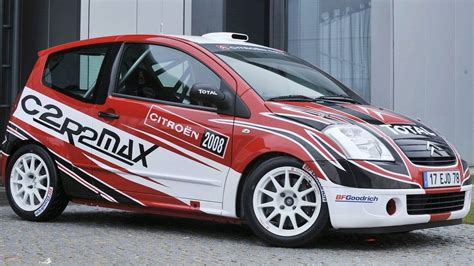 Citroen Rally Car by Citroen Reveals C2 R2 Max Rally Car