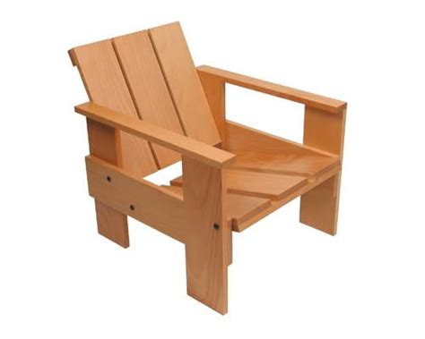 Gerrit Rietveld Crate Chair by Crate Chair Junior By Gerrit Rietveld Reissued By Other