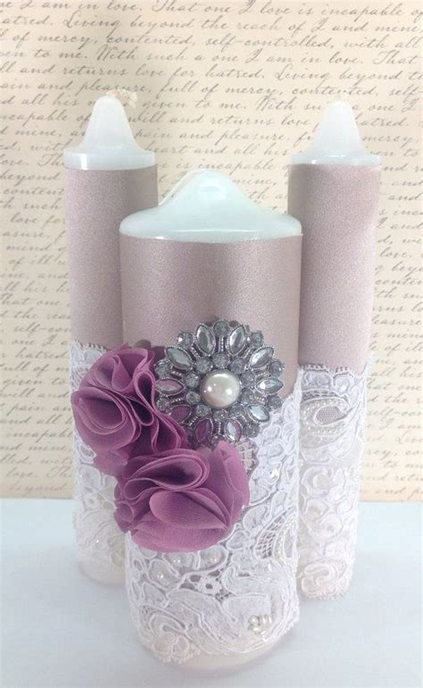 Flowery Lace Candle Holder Tempat Lilin Vintage Shabby Chic 78 best images about velas para primera comunion on
