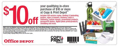Office Depot Laminating Service by 10 10 Printing At Office Depot Who Said Nothing In