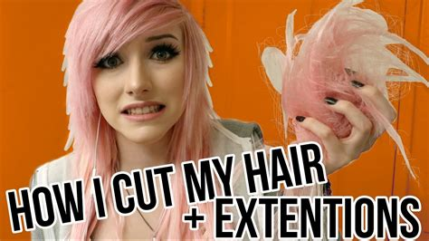 how to cut my own hair in a short shag how to cut your own hair tutorial alex dorame youtube