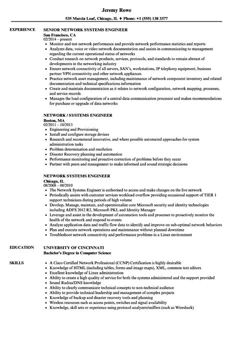network engineer resume exle doc appointment letter for primary in up 28 images