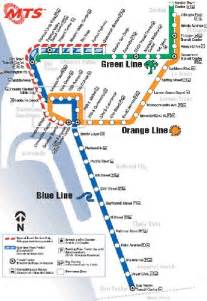 San Diego Train Map by Map And Stations Light Rail San Diego Myideasbedroom Com