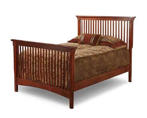 mission style beds solid oak mission style twin bed