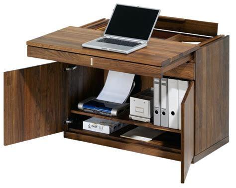compact office furniture quot all in one quot small space computer workstation from team 7