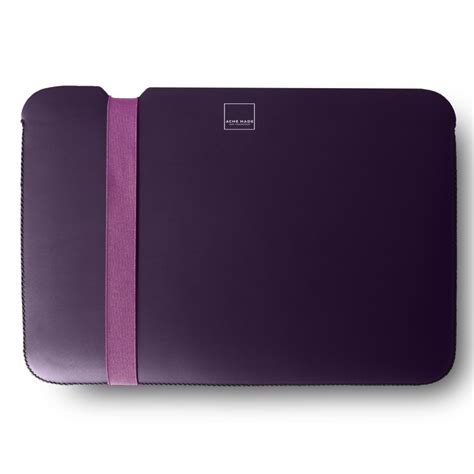 Acme Made The Sleeve Macbook Pro 13 Inch Matte Black acme made the sleeve macbook pro 13 inch purple