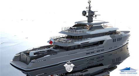 yacht turmoil layout the new royal denship 137 expedition top yacht design
