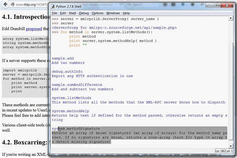 python xmlrpc tutorial xmirpc archives carspart
