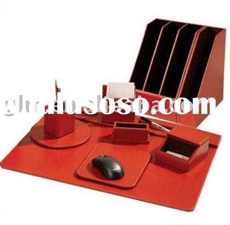 Memo Leather Card Holder Pen 1 leather desk set for sale price china manufacturer supplier 735313