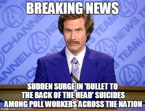 Breaking News Meme Generator - anchorman news update imgflip