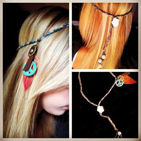 Handmade Headband - my diy hippe headband hippie headband diy