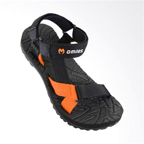 Sandal Pria Sepatu Sandal Gunung Orange Jual Omiles Gardix Sandal Pria Black Orange