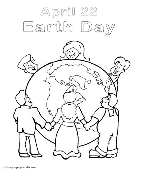 coloring pictures world environment day environmental print printables 481056