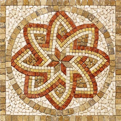 pavimenti a mosaico rosoni rosone mosaico in marmo su rete per interni esterni
