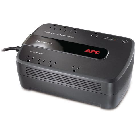 Apc Universal Battery Adds 6 Hours Of To Your Laptop by Apc Be650g1 Back Ups 650va 8 Outlet Uninterruptible Power
