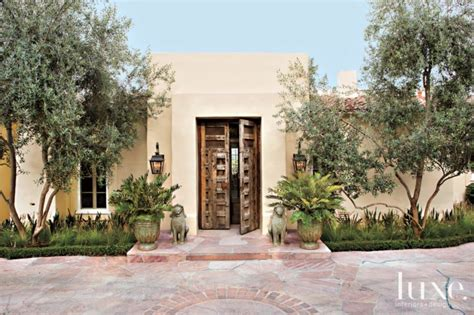 Spanish Colonial Architecture Floor Plans Mexican Colonial Style Home With Contemporary Interiors