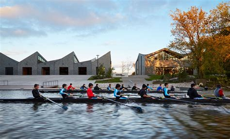 the boat house chicago studio gang s chicago boathouse wins aia award