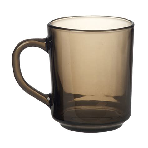 coffe mug briscoes luminarc glass coffee mug