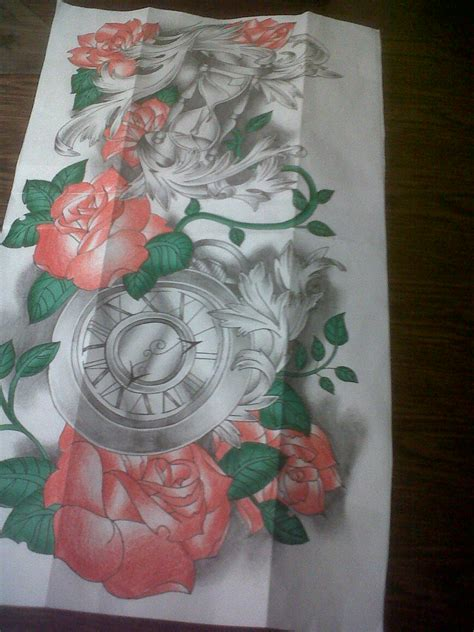 rose tattoo sleeve designs 14 sleeve design models picture