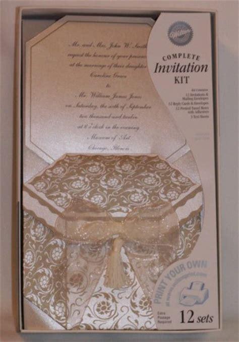 Wilton Invitations Printablemplete  Ee  Kits Ee   Capti Ting