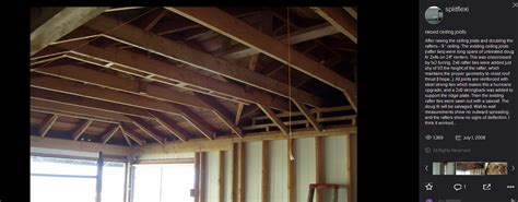 raised ceiling joists flickr photo sharing i want to raise the ceiling joists for a 1 foot to gain