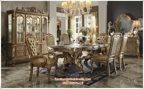 Meja Makan Klasik meja makan klasik jati jepara meja makan klasik jati