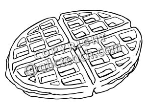 waffle house coloring page clip art waffle 1 coloring page abcteach