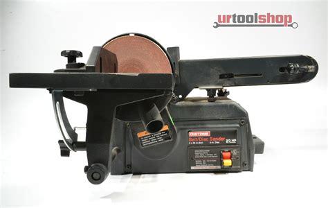 Craftsman 137 215360 4 Quot X36 Quot Belt Disc Sander 5705 4 Ebay