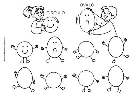 figuras geometricas ovalo ovalo