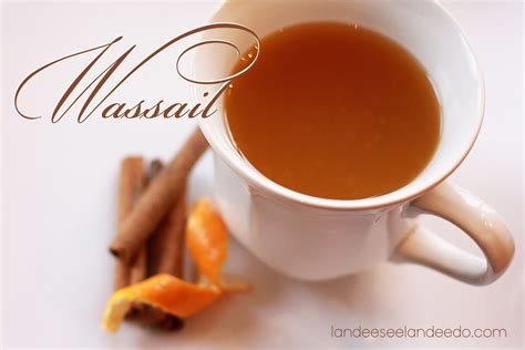 Summer Holiday Craft Ideas - a wassail recipe landeelu com