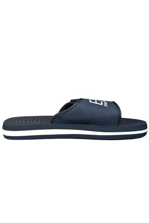 armani slippers ea7 by emporio armani s summer slippers navy blue